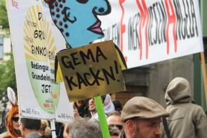 GEMA Protest at the Kulturbrauerei
