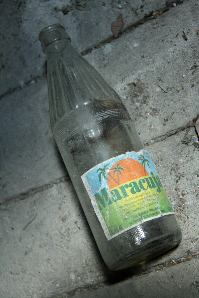 A Maracuja bottle at Sanatorium E near Potsdam