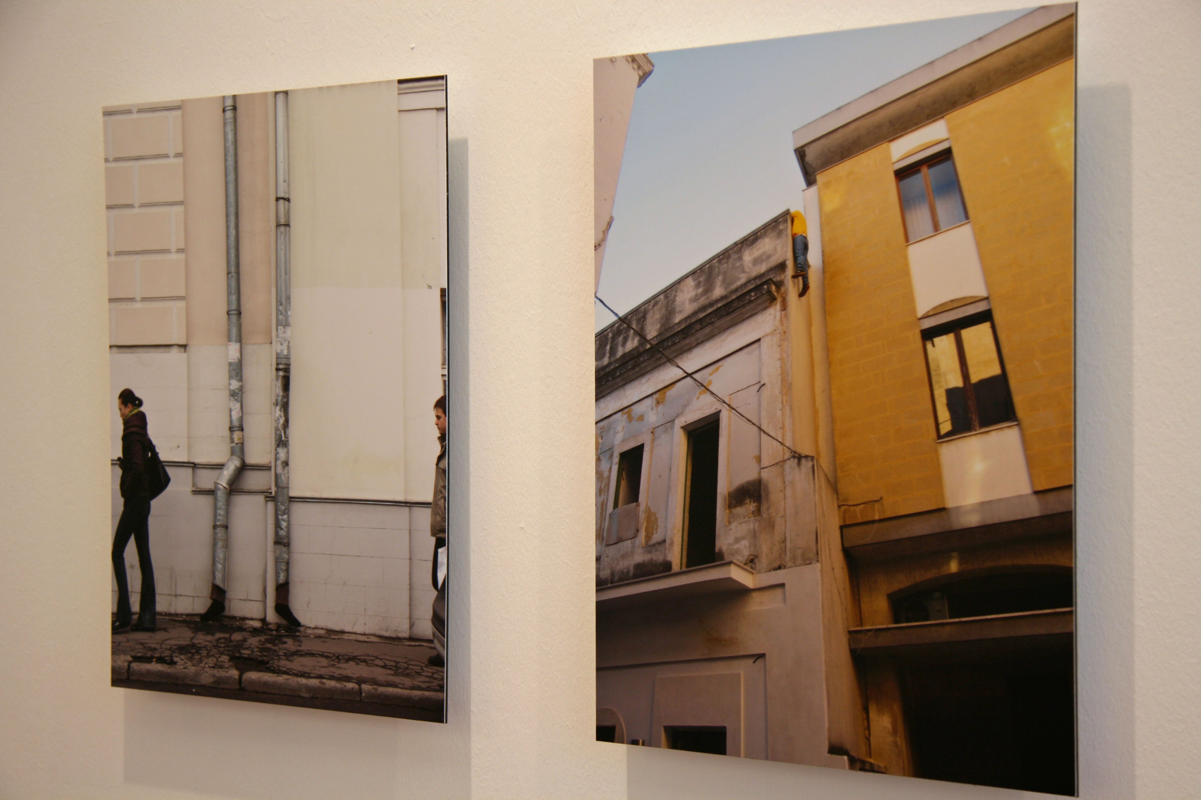 Photographs of street installations by Mark Jenkins - part of the Glazed Paradise exhibition at Gestalten in Berlin