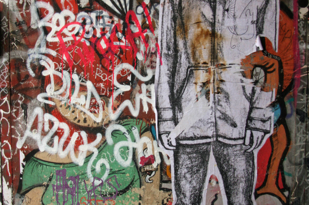 Sexy Bunny: Street Art by Miss Van in Berlin
