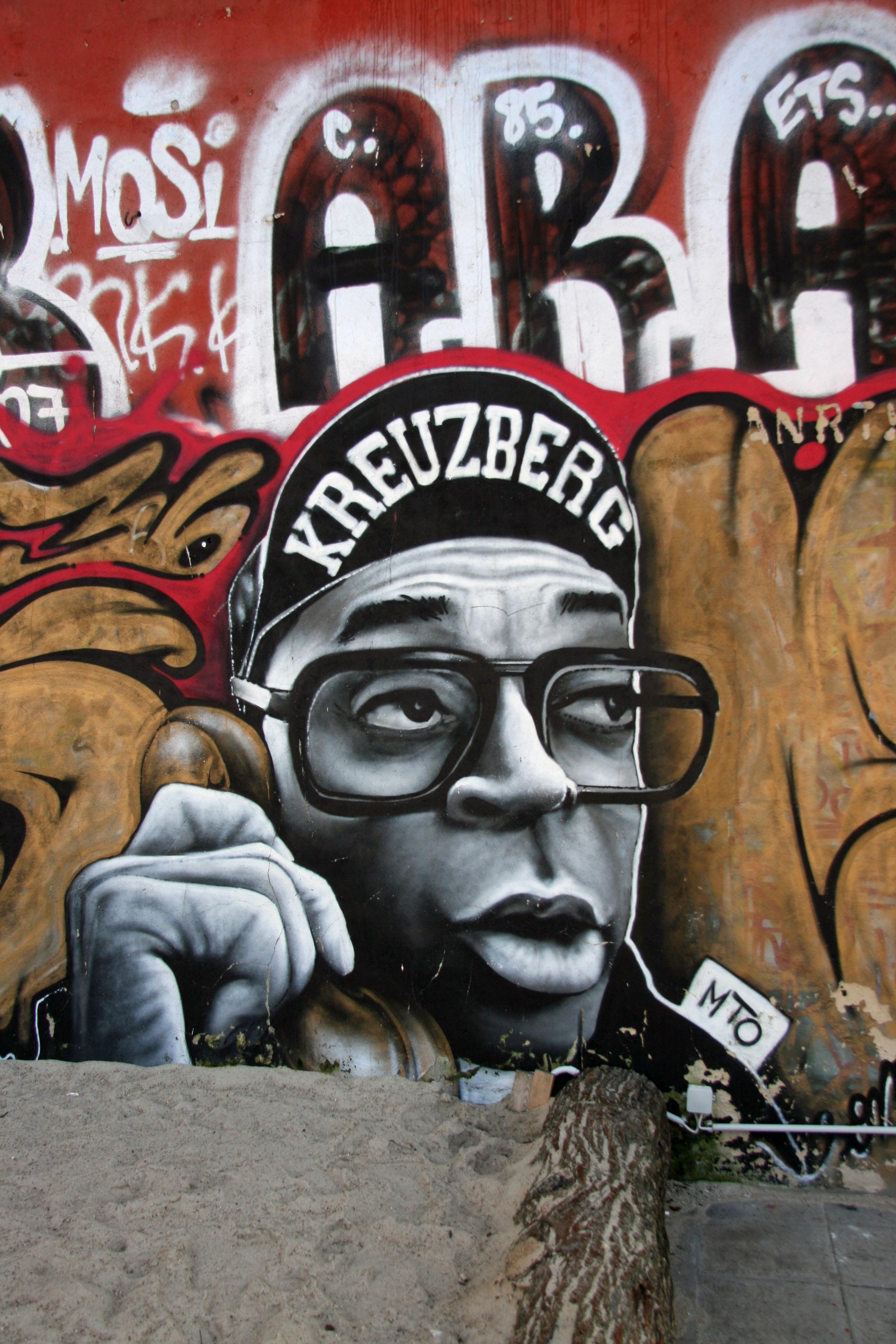 Spike Lee: Street Art by MTO in Berlin