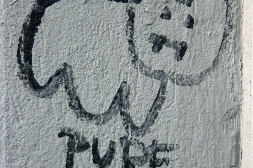 Bunny: Street Art by Pure Evil in Berlin