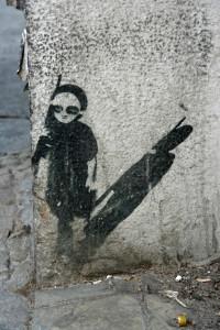 Sentry: Street Art by Unknown Artist in Berlin