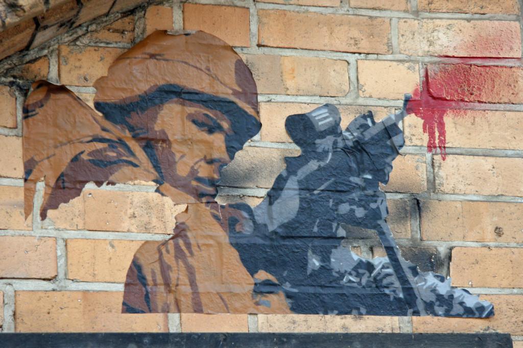 Soldier: Street Art by Unknown Artist in Berlin