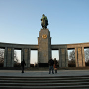 Soviet War Memorial on Strasse des 17 Juni