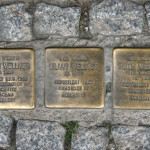 Stolpersteine 106a: In memory of Martin Wellner, Lilian Wellner and Ruth Wellner (Greifswalder Strasse 43A) in Berlin