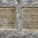 Stolpersteine 106b: In memory of Kurt Münzer and Caroline Münzer (Greifswalder Strasse 43A)