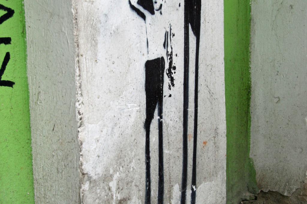 Tall Boys: Street Art by Unknown Artist in Berlin