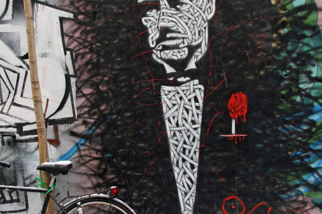 The Godfather: Street Art by Unknown Artist in Berlin