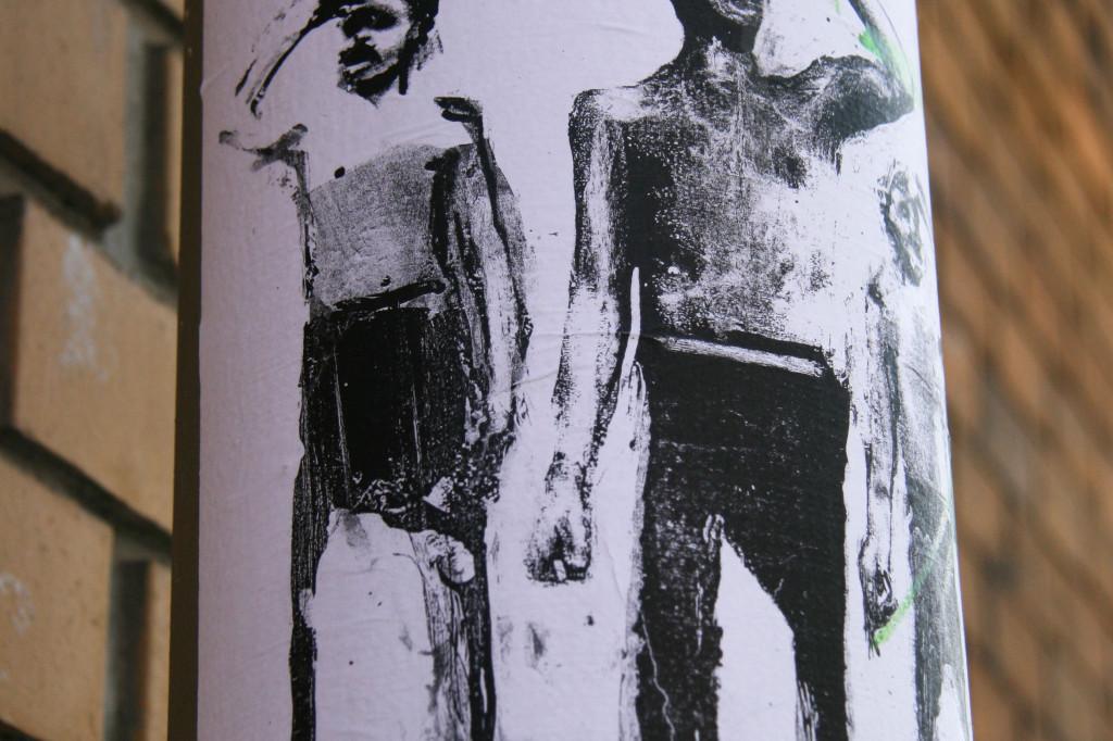 The Searchers: Street Art by Unknown Artist in Berlin