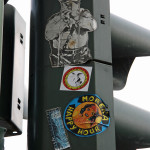 Traffic Light Cop (Sticker): Street Art by Unknown Artist in Berlin