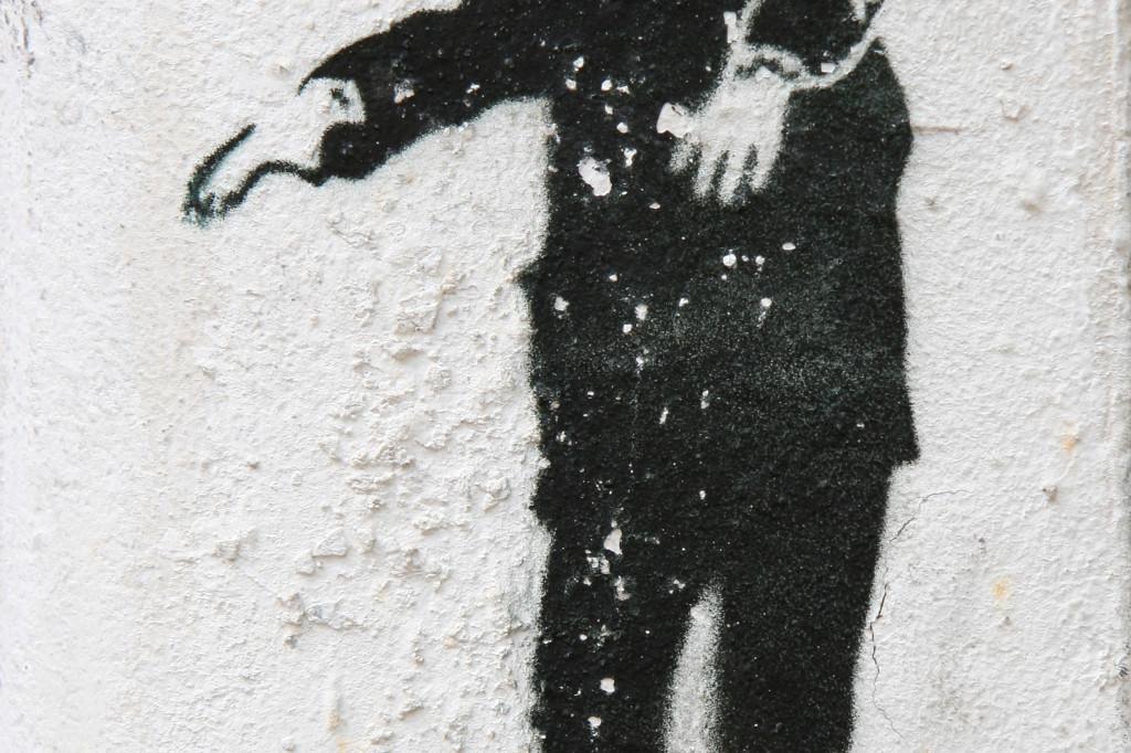 Zombie Boy: Street Art by Unknown Artist in Berlin