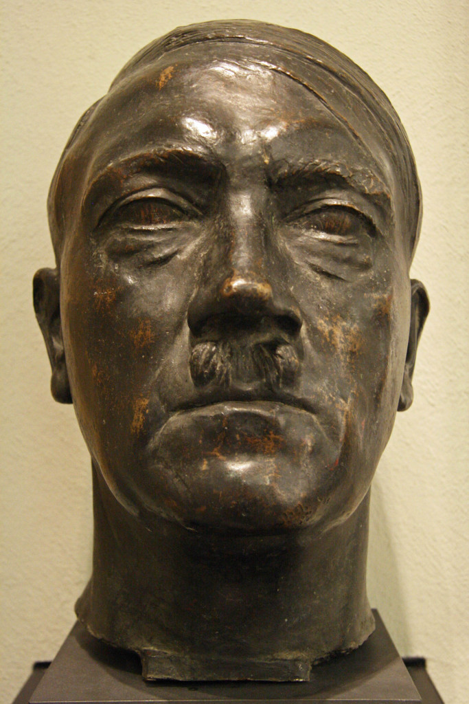 A bronze of Hitler on display at the Deutsches Historisches Museum (German Historical Museum) in Berlin