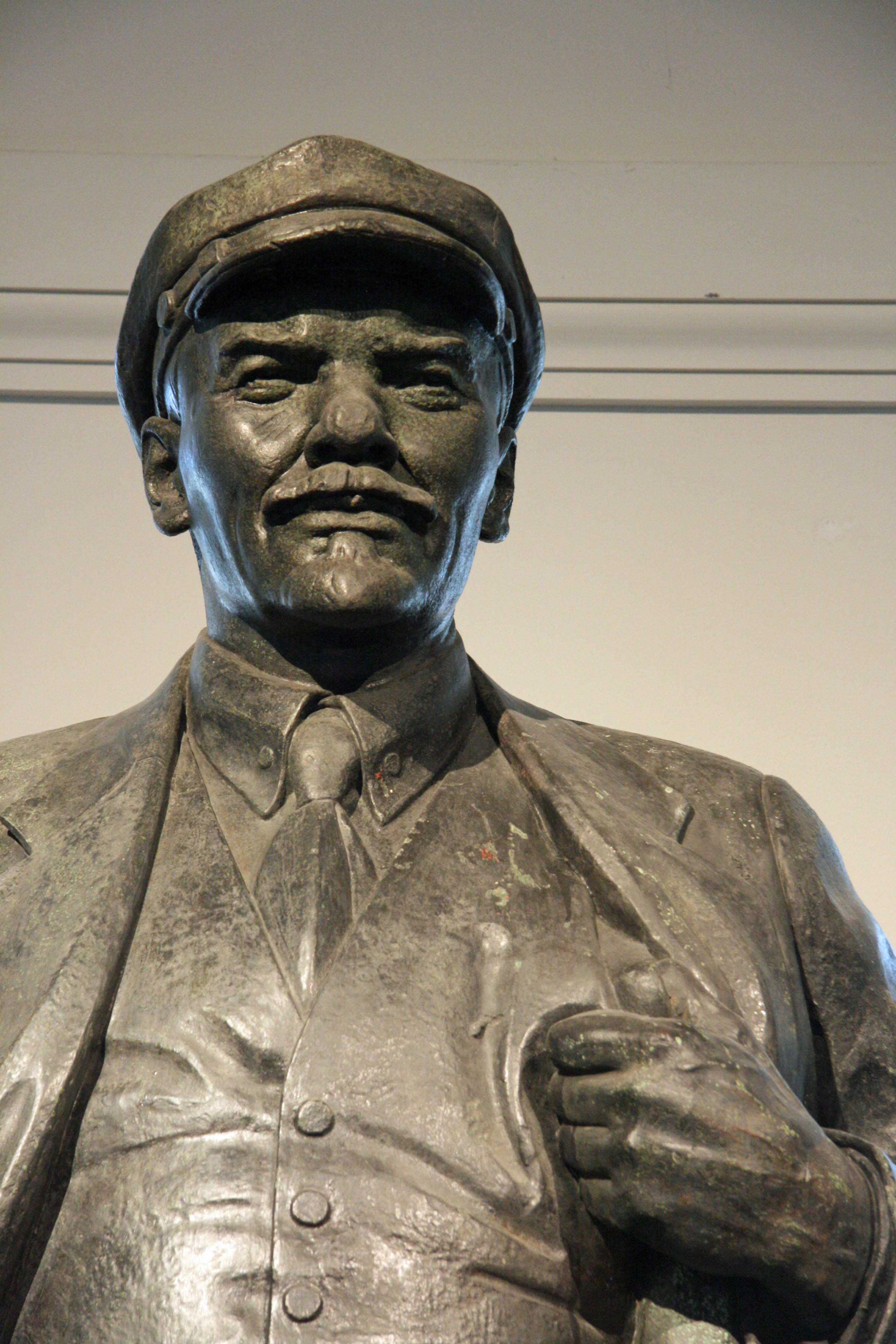 A statue of Lenin in the lobby of the Deutsches Historisches Museum (German Historical Museum) in Berlin