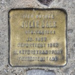 Stolpersteine 111: In memory of Julie Baer (Lausitzer Platz 12A) in Berlin