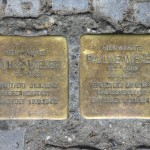 Stolpersteine 114: In memory of Arthur Wiener and Pauline Wiener (Herrfurthstrasse 5) in Berlin