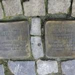 Stolpersteine 117: In memory of Julius Tauber and Erna Ewer (Kantstrasse 121-120) in Berlin