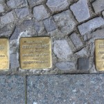 Stolpersteine 119: In memory of Vera Nathan, Adolph Welsch and Leonhard Holz (Ludwigkirchplatz 12) in Berlin