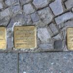 Stolpersteine 119: In memory of Vera Nathan, Adolph Welsch and Leonhard Holz (Ludwigkirchplatz 12) in Berlin