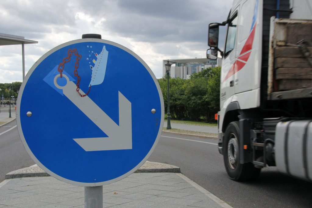Anchor: A street sign intervention - the clever street (sign) art of CLET in Berlin