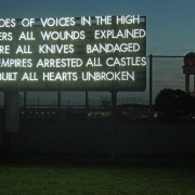 Robert Montgomery – Echoes of Voices in the High Towers