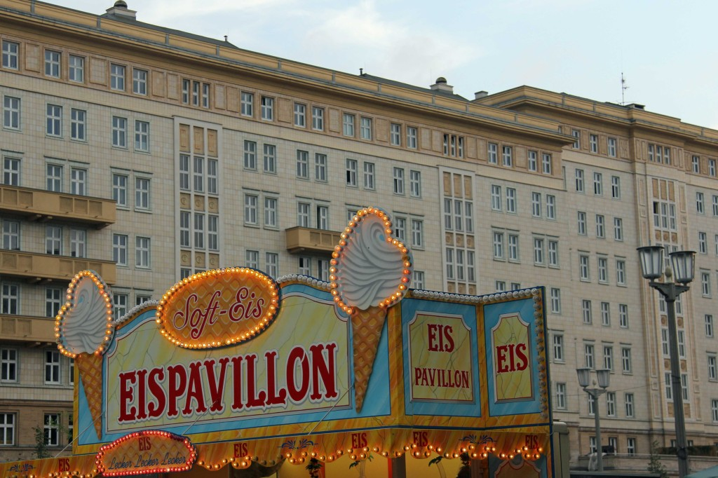 Eis Pavillon: A stall at the International Berlin Beer Festival (Internationales Berliner Bierfestival)