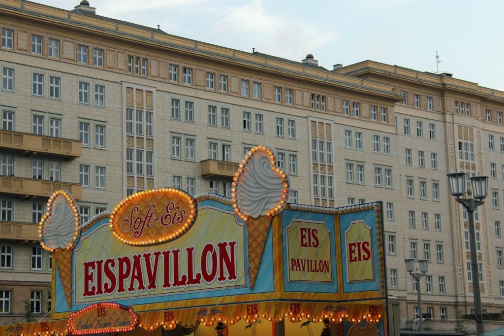 Eis Pavillon: A stall at the International Berlin Beer Festival (Internationales Berliner Bierfestival)