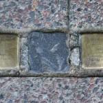 Stolpersteine 123: In memory of Dr Emil Fridberg and Arthur Landsberger (Köpenicker Strasse 106) in Berlin
