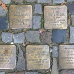 Stolpersteine 125: In memory of Martha Friedlaender, Else Friedlaender, Hans Leibholz, Laura Leibholz and Lieselott Leibholz (Danckelmannstrasse 44) in Berlin