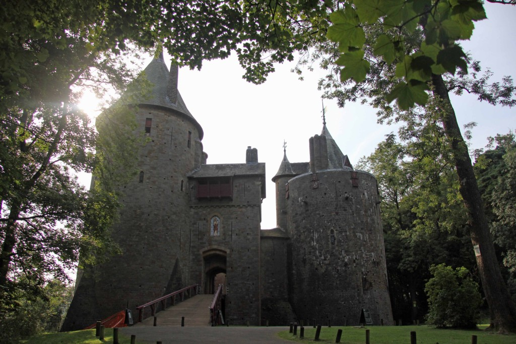 Castell Coch (Red Castle) near Cardiff