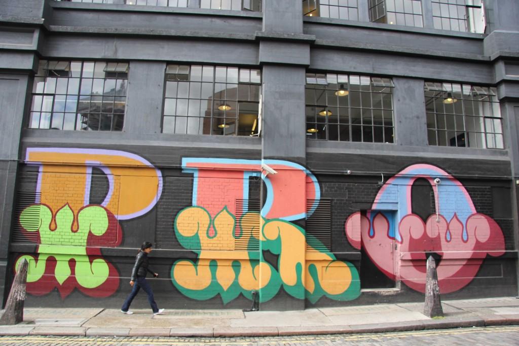 PRO - Street Art by EINE in East London