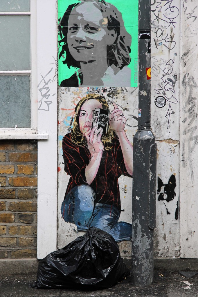 Photographer - Street Art by Jana & JS in East London