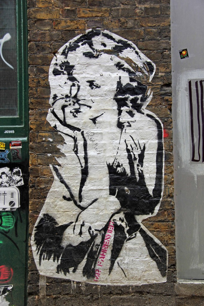 Marilyn: Marilyn Monroe Street Art by Mr. Fahrenheit in East London