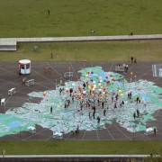 Berlin: City of Diversity – A 1:775 Scale Map on the Schlossplatz