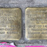 Stolpersteine 126a: In memory of Alfons Loew and Dorothea Loew (Danziger Strasse 28) in Berlin