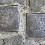 Stolpersteine 127: In memory of Elsbeth Schreiber and Bruno Albert Auerbach (Pappelallee 12-13) in Berlin
