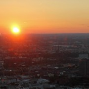 Berlin From Above: The Sunset From The Fernsehturm