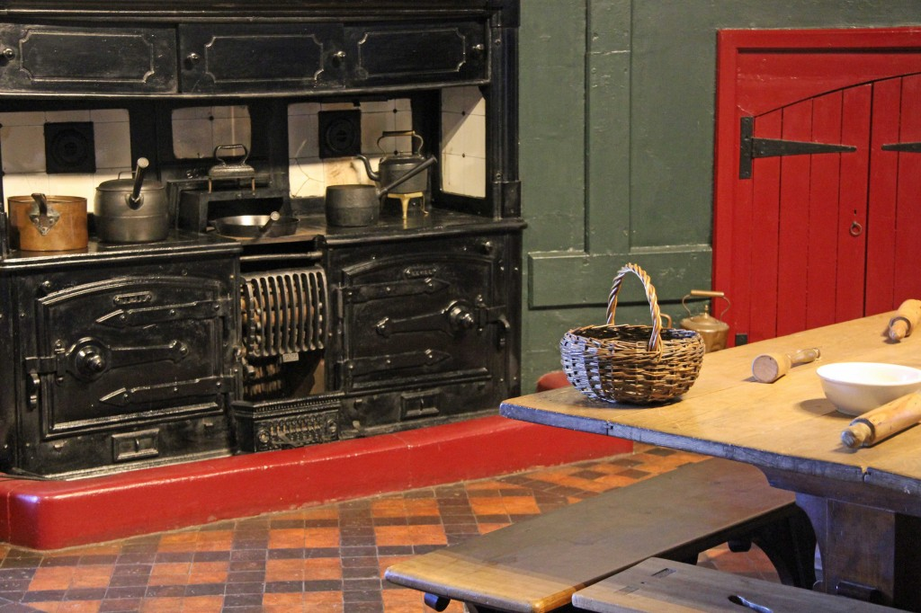 The Kitchen at Castell Coch (Red Castle) near Cardiff