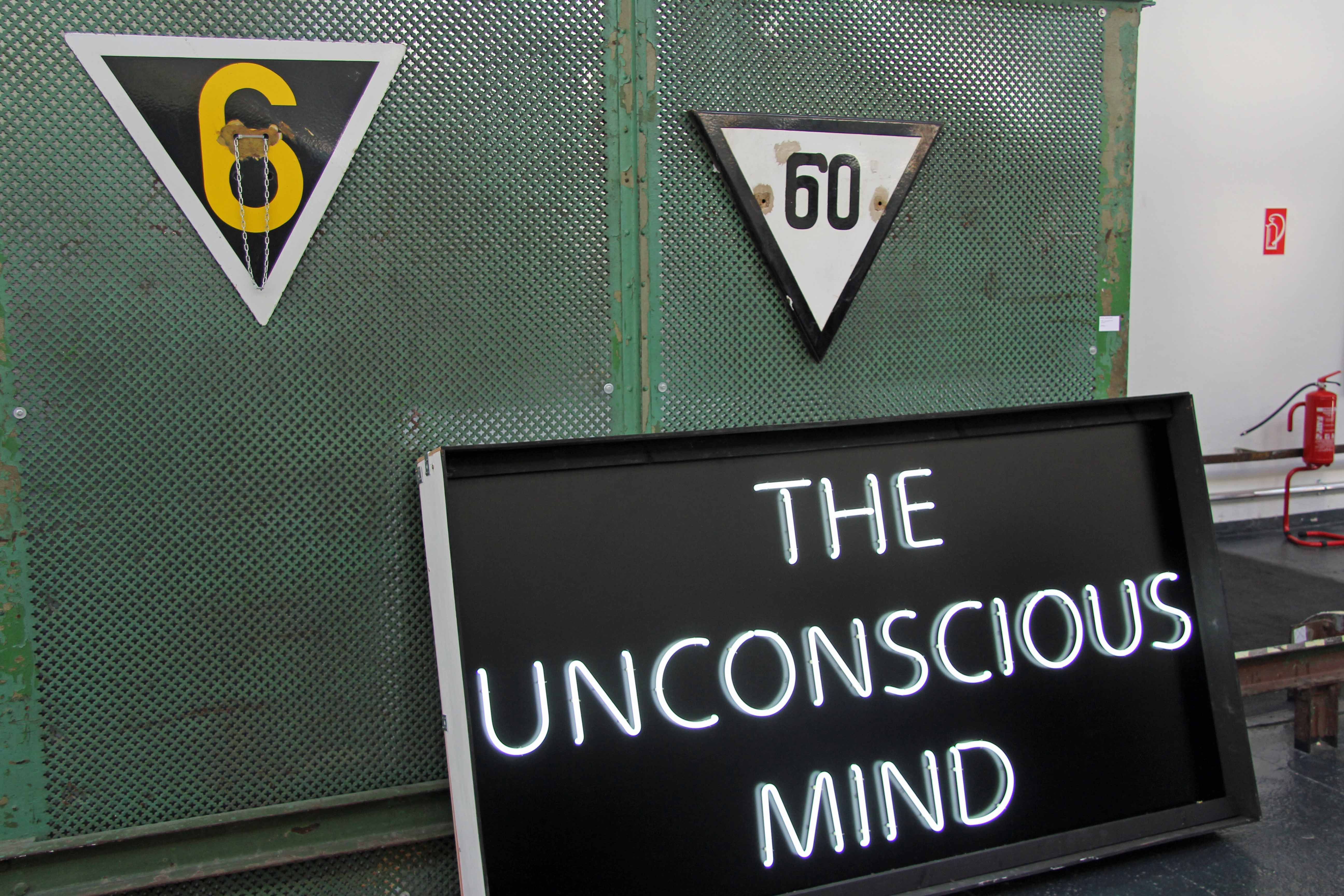 Unknown Artist - The Unconscious Mind at Stroke Urban Art Fair 2012 in Berlin