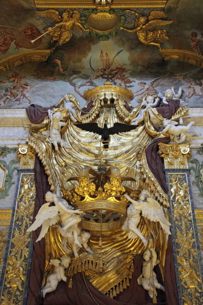 Decoration in the Chapel at Schloss Charlottenburg in Berlin