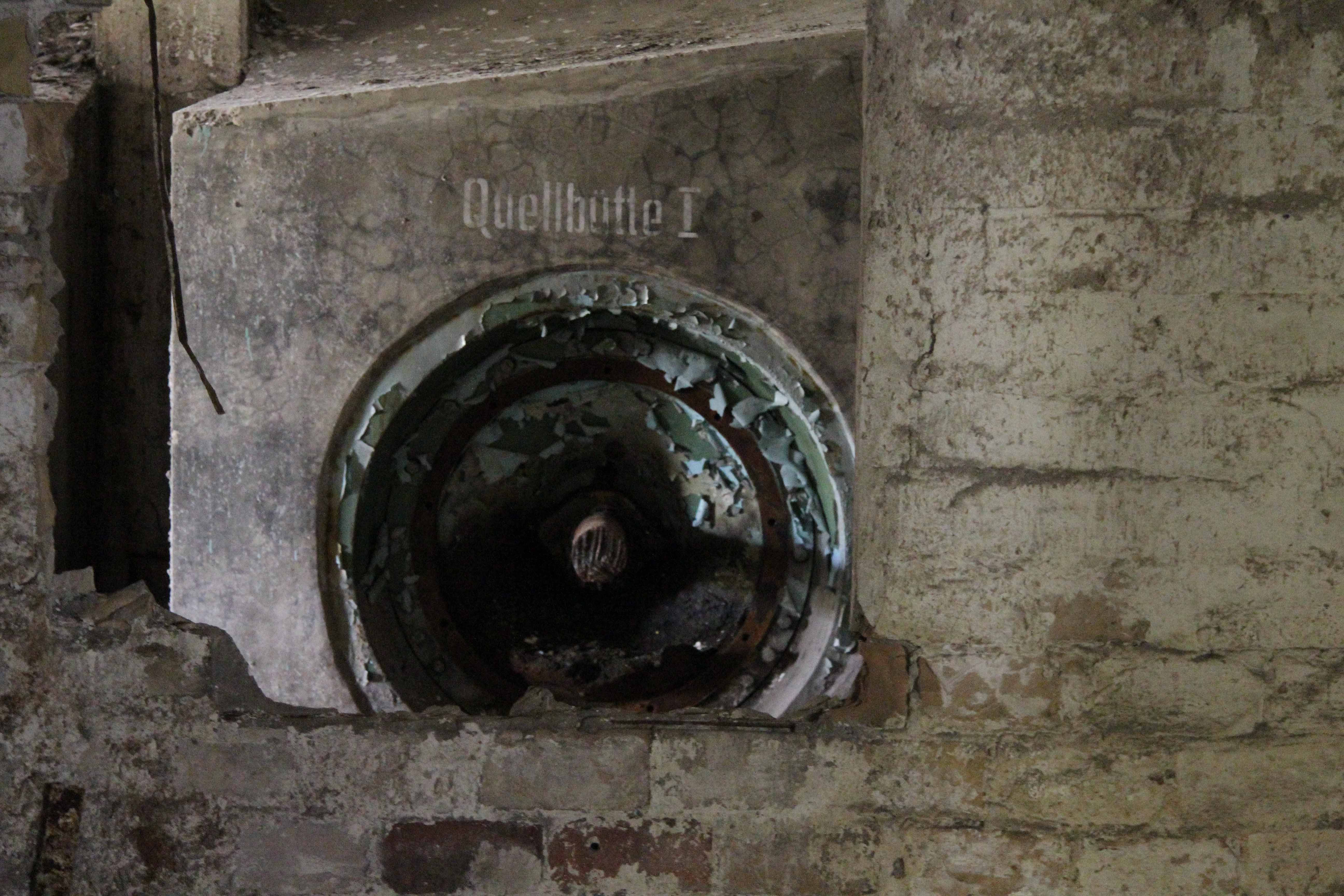 Quellbütte at Papierfabrik Wolfswinkel, an abandoned paper mill near Berlin