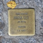 Stolpersteine 132: In memory of Maria Leo (Pallasstrasse 12) in Berlin