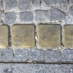 Stolpersteine 132a: In memory of Jacques Borchardt, Franziska Borchardt, Helmut Michael Borchardt and Lilli Flora Borchardt (Pallasstrasse 12) in Berlin