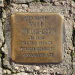 Stolpersteine 138: In memory of Kurt Müller-Croon (Friedrichstrasse 11) in Berlin