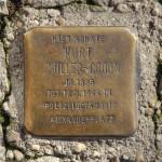 Stolpersteine 138: In memory of Kurt Müller-Croon (Friedrichstrasse 11) in Berlin