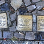 Stolpersteine 141: In memory of Eduard Gärtner, Doris Lubliner and Albert Bellak (Spandauer Damm 54) in Berlin
