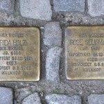 Stolpersteine 142: In memory of Frida Holz and Rose Seligmann (Kaiserdamm 19) in Berlin