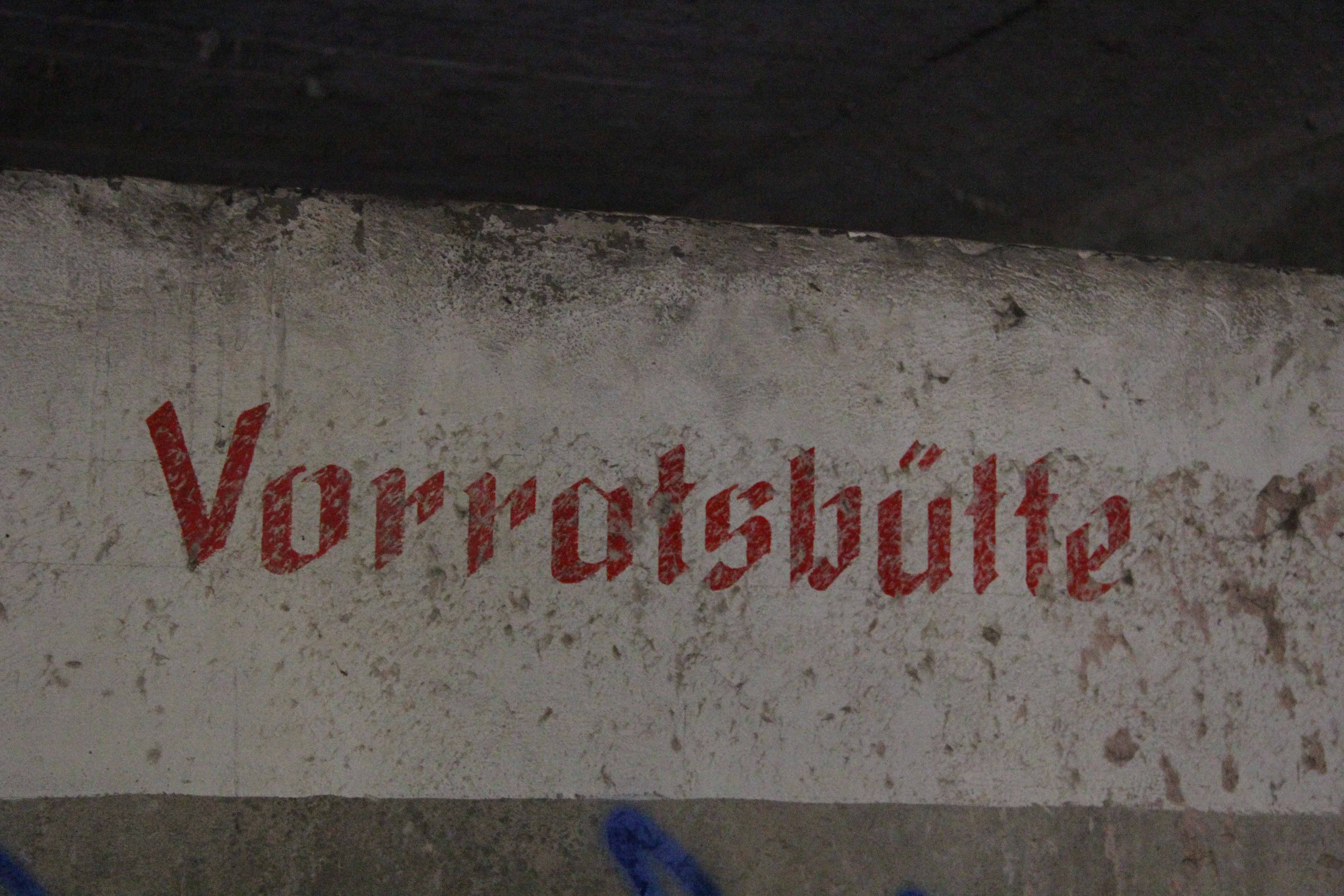 Vorratsbütte (Storage chest) at Papierfabrik Wolfswinkel, an abandoned paper mill near Berlin