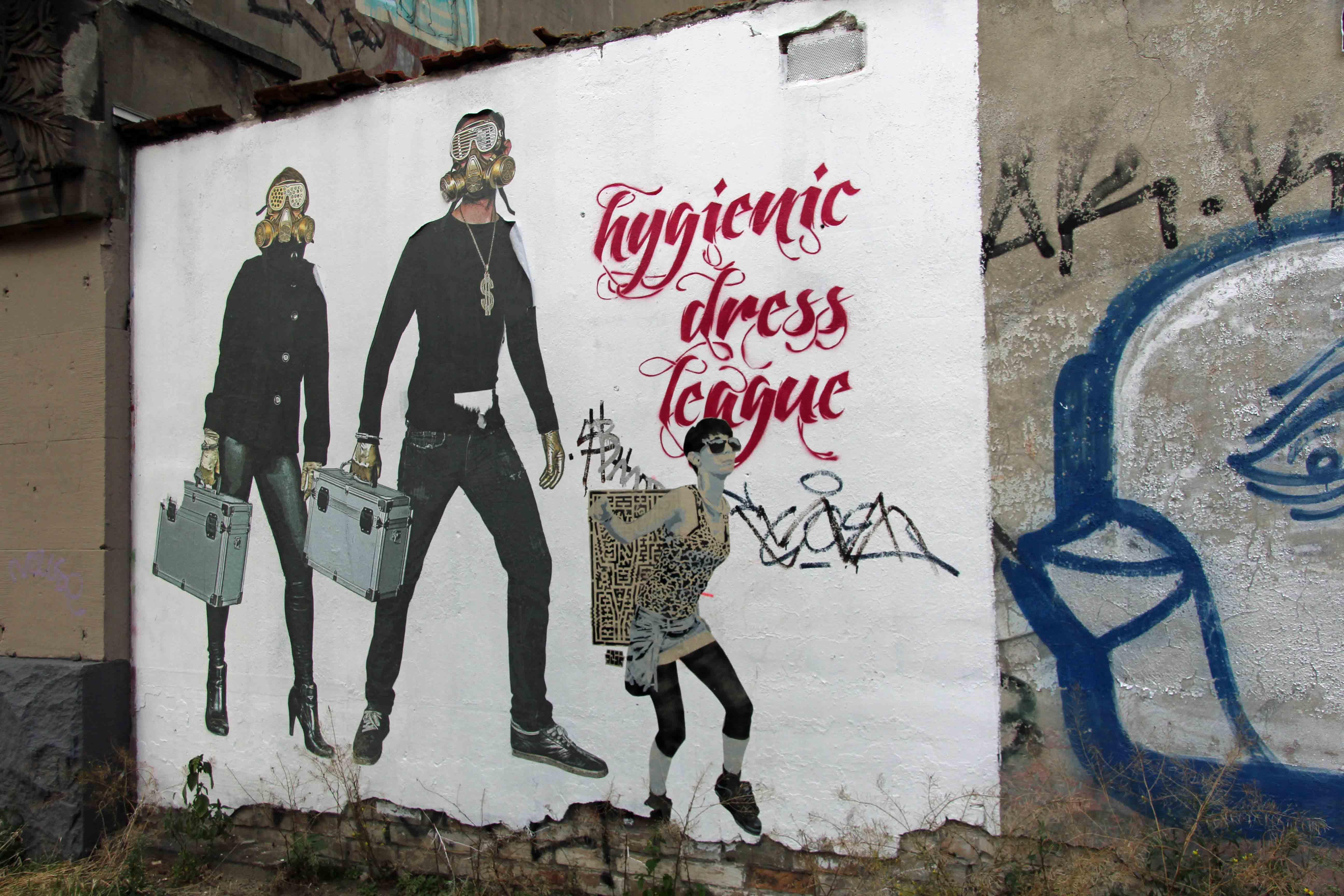Street Art by Hygienic Dress League in Berlin