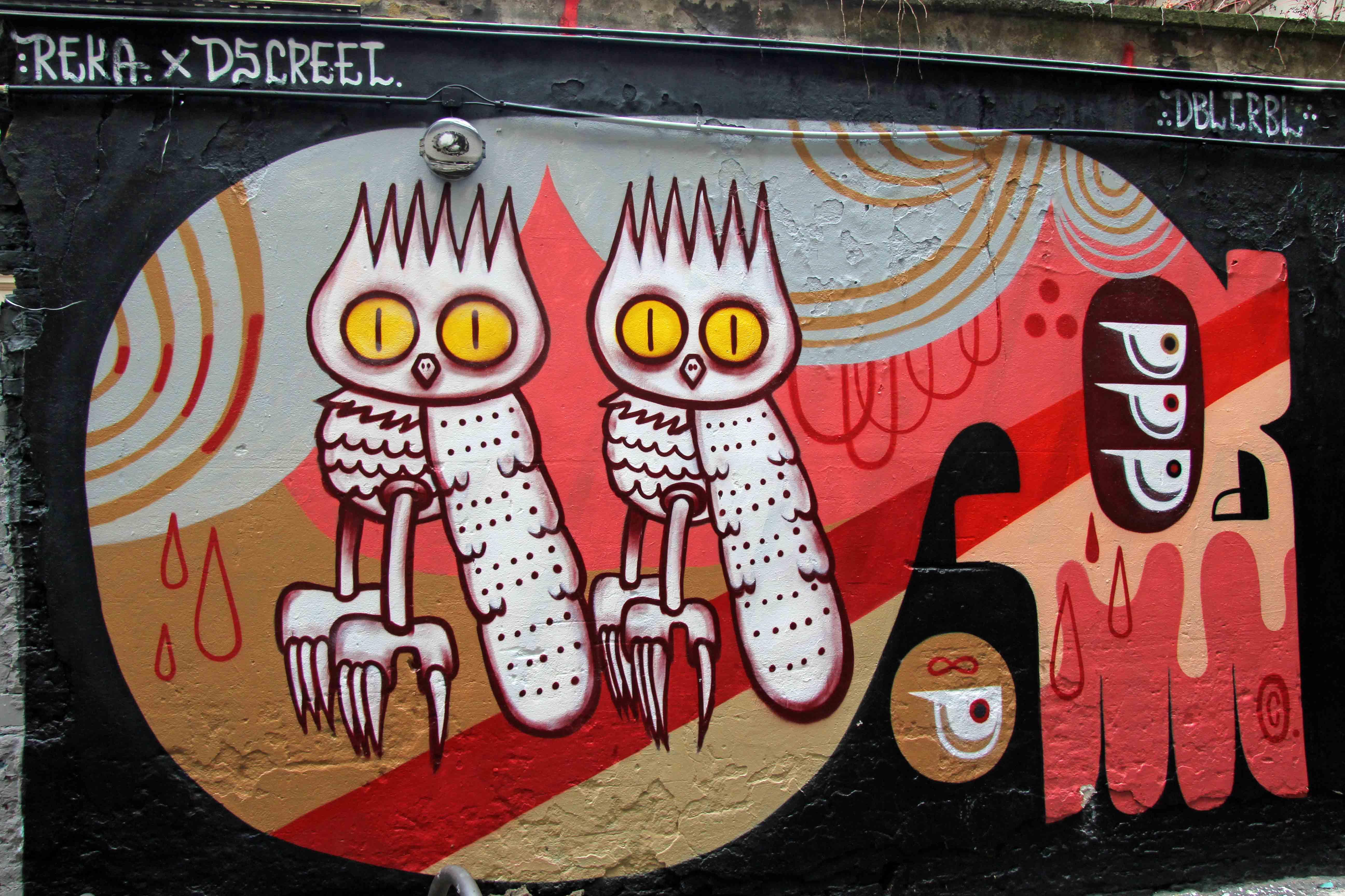 Dbltrbl - Street Art by Reka x Dscreet in Berlin